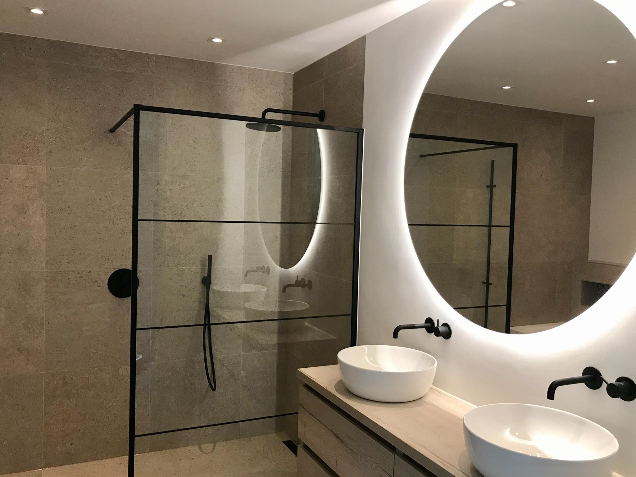 Badkamer In Aalsmeer Gj Meijer Sanitair En Tegels Almere Buiten